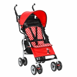 SOLD OUT The First Years Ignite Designer Stroller - Disney Minnie Mouse Red Dot