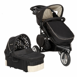 SOLD OUT The First Years Naturalization ATS All Terrain Jogging Stroller With Bassinet