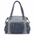 Timi And Leslie Abby Diaper Bag - Grey/Navy