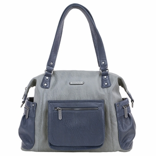 SOLD OUT Timi And Leslie Abby Diaper Bag - Grey/Navy