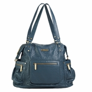 TEMPORARILY OUT OF STOCK Timi And Leslie Abby Diaper Bag - Ocean Blue