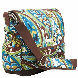 SOLD OUT Timi And Leslie Canvas Messenger Diaper Bag - Felicity