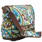 Timi And Leslie Canvas Messenger Diaper Bag - Felicity