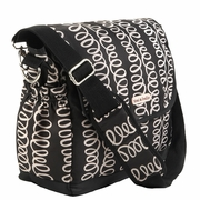 Timi And Leslie Canvas Messenger Diaper Bag - MacKenzie
