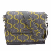 Timi And Leslie Canvas Messenger Diaper Bag - Sami
