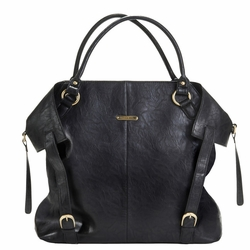 TEMPORARILY OUT OF STOCK Timi And Leslie Charlie Diaper Bag Tote - Black