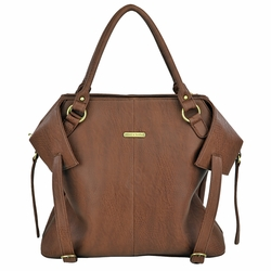 Timi And Leslie Charlie Diaper Bag Tote - Cinnamon