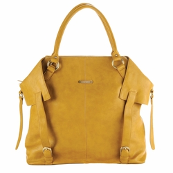 TEMPORARILY OUT OF STOCK Timi And Leslie Charlie Diaper Bag Tote - Mustard