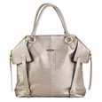 Timi And Leslie Charlie Diaper Bag Tote - Pewter