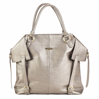 SOLD OUT  Timi And Leslie Charlie Diaper Bag Tote - Pewter