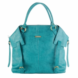 Timi And Leslie Charlie Diaper Bag Tote - Teal
