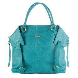 SOLD OUT Timi And Leslie Charlie Diaper Bag Tote - Teal