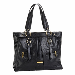 Timi And Leslie Dawn Diaper Bag Tote - Black