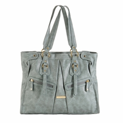 TEMPORARILY OUT OF STOCK Timi And Leslie Dawn Diaper Bag Tote - Cloud Blue