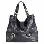TEMPORARILY OUT OF STOCK Timi And Leslie Hannah Tote Diaper Bag - Black