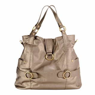 SOLD OUT  Timi And Leslie Hannah Tote Diaper Bag - Pewter
