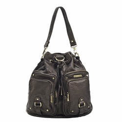 Timi And Leslie Hart Diaper Bag Backpack - Espresso