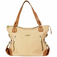 Timi And Leslie Kate Diaper Bag Tote - Sand/Saddle