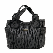 TEMPORARILY OUT OF STOCK Timi And Leslie Marie Antoinette Tote Diaper Bag - Black
