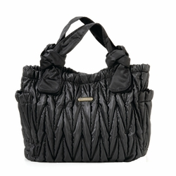 Timi And Leslie Marie Antoinette Tote Diaper Bag - Black