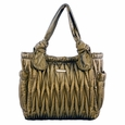 Timi And Leslie Marie Antoinette Tote Diaper Bag Gemstone Collection - Amber