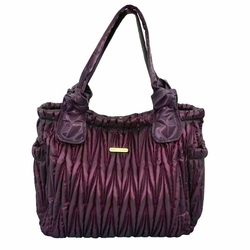 Timi And Leslie Marie Antoinette Tote Diaper Bag Gemstone Collection - Amethyst