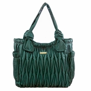 Timi And Leslie Marie Antoinette Tote Diaper Bag Gemstone Collection - Emerald