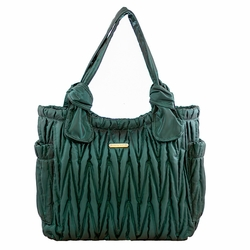 SOLD OUT Timi And Leslie Marie Antoinette Tote Diaper Bag Gemstone Collection - Emerald
