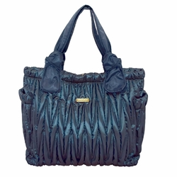 TEMPORARILY OUT OF STOCK Timi And Leslie Marie Antoinette Tote Diaper Bag Gemstone Collection - Sapphire