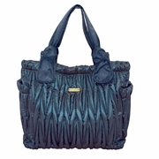Timi And Leslie Marie Antoinette Tote Diaper Bag Gemstone Collection - Sapphire