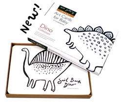 SOLD OUT Wee Gallery Flash Cards-Dino Collection - FINAL SALE