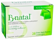 B-Natal Green Apple Lozenges for Morning Sickness