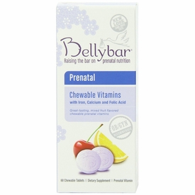 Bellybar Chewable Prenatal Vitamins