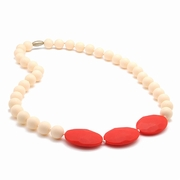 Chewbeads Greenwich Teething Necklace � Ivory