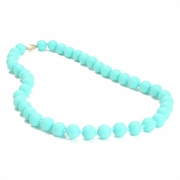 Chewbeads Jane Teething Necklace – Turquoise