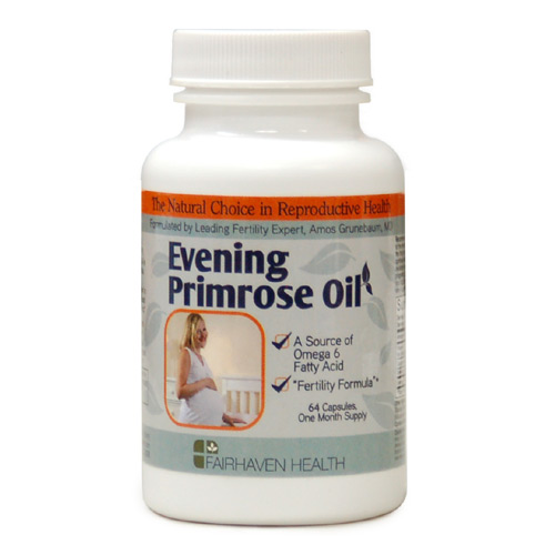 Evening primrose for fertility