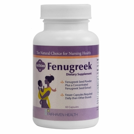 Fenugreek Supplement for Breastfeeding