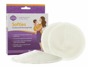 Milkies Softies Contoured Nursing Pads