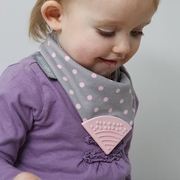 Neckerchew � Polka Dot Pink