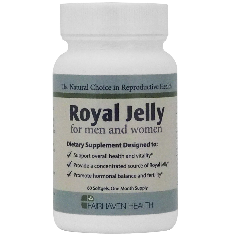 Can you take royal jelly clomid