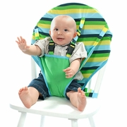 Seaside Stripe Travel High Chair