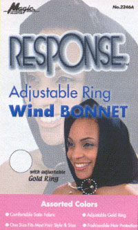 Adjustable Ring Wind Bonnet