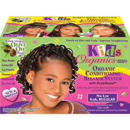 Africa's Best KIDS ORGANICS No-Lye Conditioning Relaxer System Kit