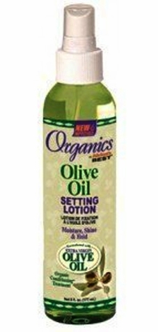 Africa's Best Organics Olive Oil SETTING LOTION 6 oz