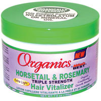 Africa's Best Organics HORSETAIL & ROSEMARY Hair Vitalizer 7 oz