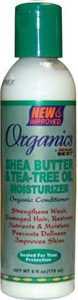 Africa's Best Organics SHEA BUTTER & TEA-TREE OIL MOISTURIZER 6 oz