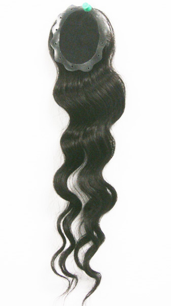 Black Diamond 100 Remi Human Hair Mono Top Closure 35