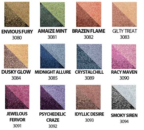 Black Opal Color Splurge EYESHADOW DUOS 0.14 oz
