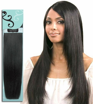 Bobbi Boss Indiremi Virgin Human Hair Remy Weave FINE SILKY 10 Inch - Click to enlarge