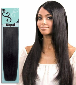 Bobbi Boss Indiremi Virgin Human Hair Remy Weave FINE SILKY 12 inch - Click to enlarge
